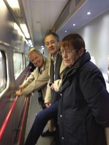 Train to London